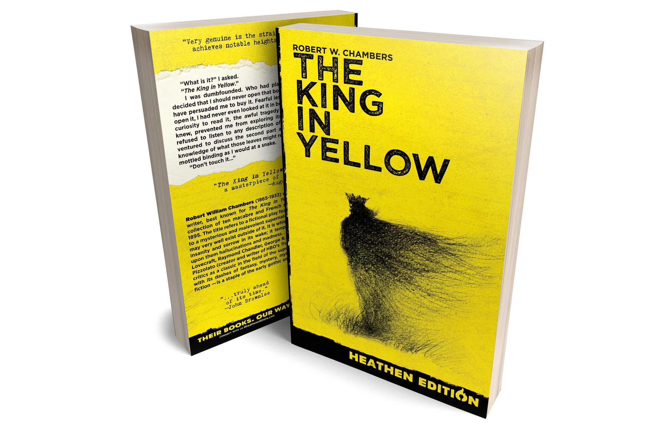 The King in Yellow by Robert W. Chambers (Heathen Edition)